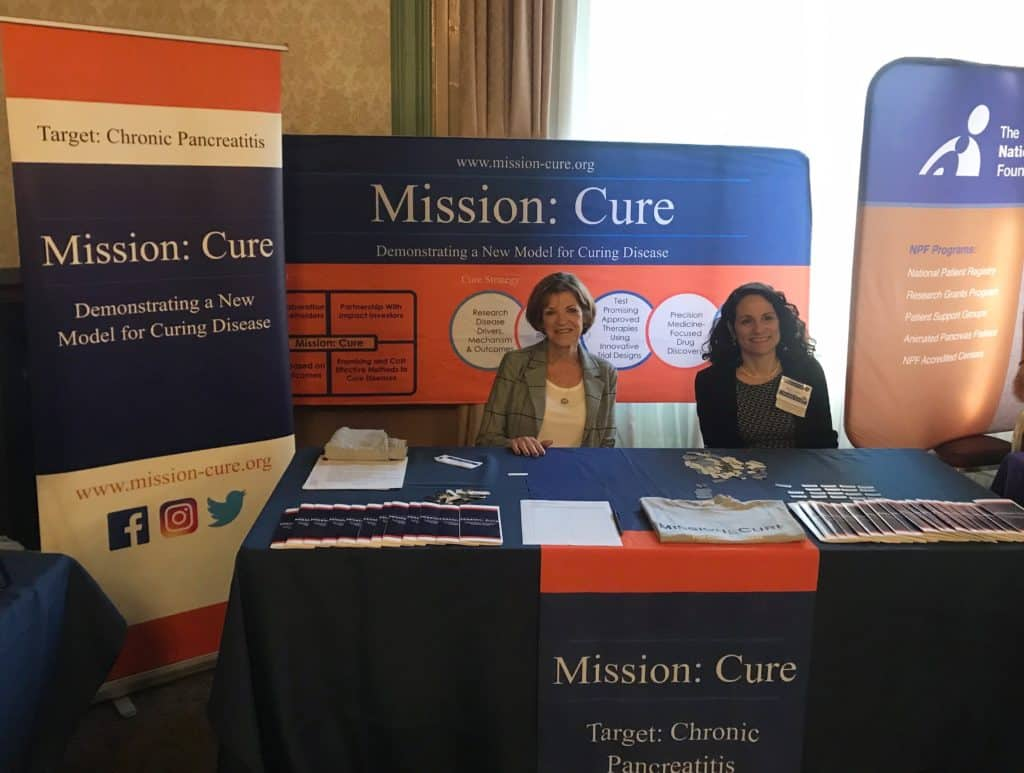 Showing Mission: Cure's co-Directors at PancreasFest 2019
